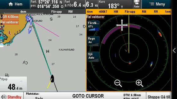 Så mycket nytta har du av radar och AIS