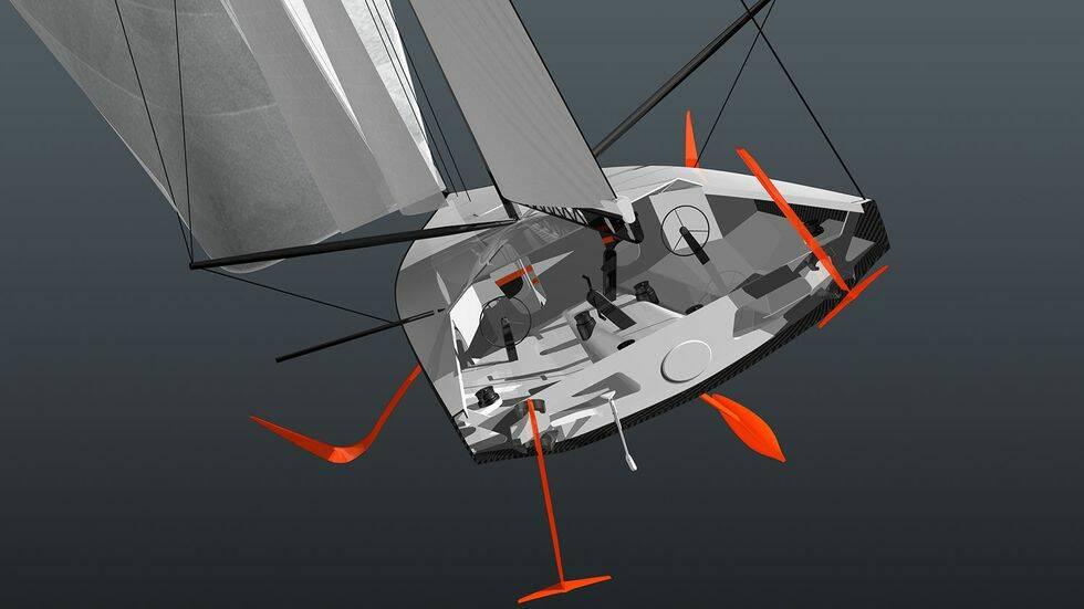 TV: Volvo Ocean Race byter till foilande enskrovsbåt – och katamaran