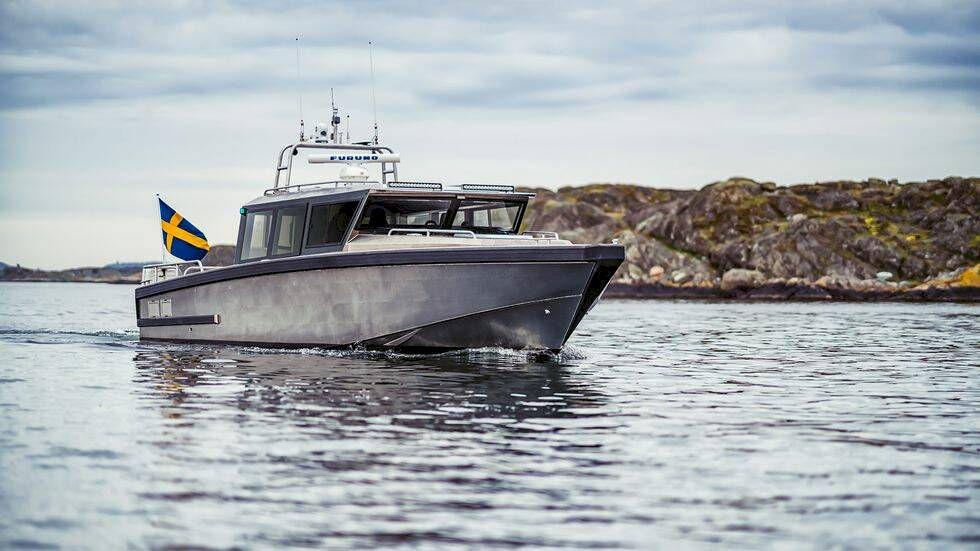TV: Vi kollar in Sveriges mäktigaste aluminiumbåt