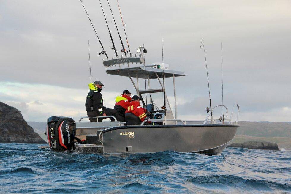 Därför har fiskeguiden Johan Broman valt en aluminiumbåt