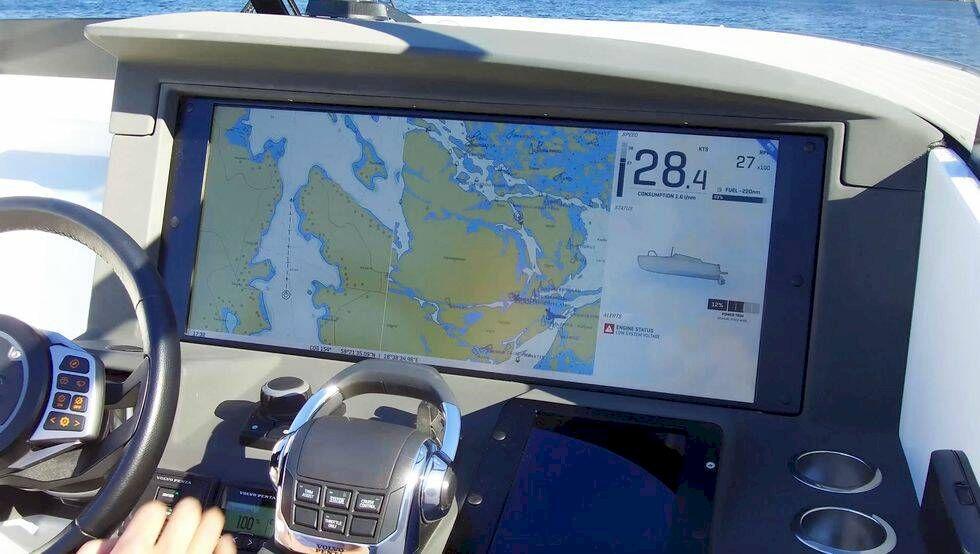 Stort intresse vid Medelhavet för svensk teknikbåt
