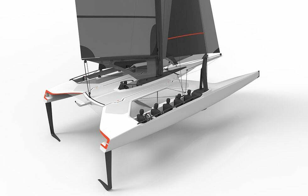 Detta kan vara nästa Volvo Ocean Race-båt – svenskar deltar i projektet