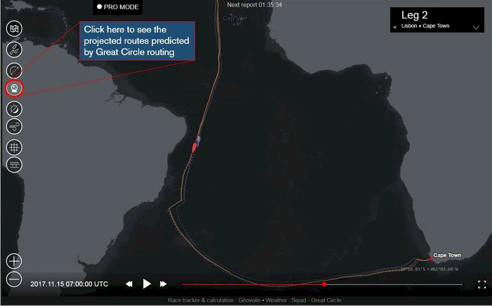 Nu kan du kolla vem som vinner i Volvo Ocean Race – redan innan målgång