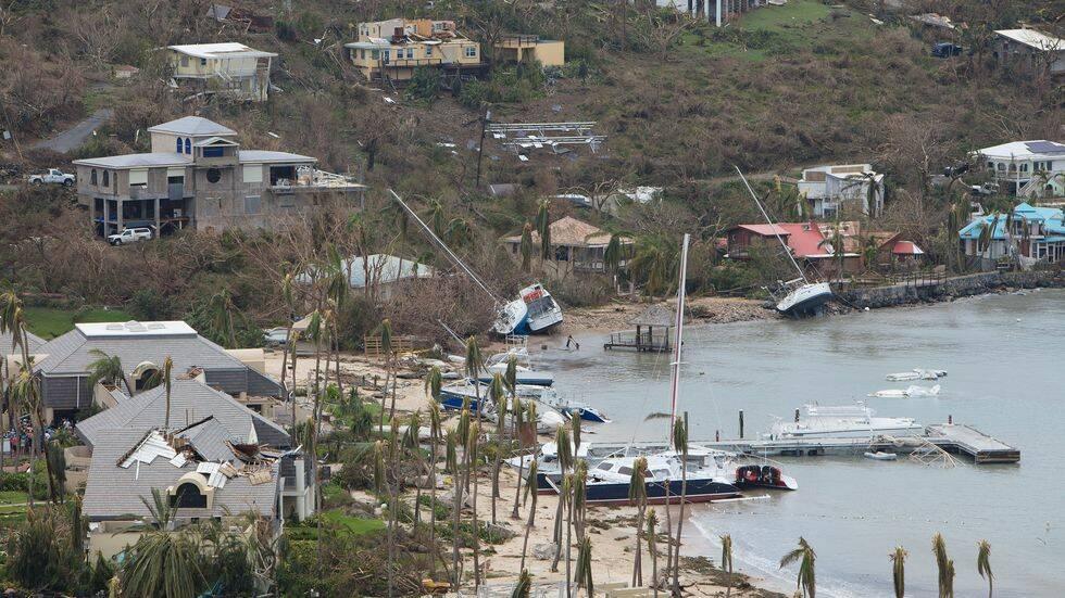 Svenska långseglare hjälper orkandrabbade Karibien