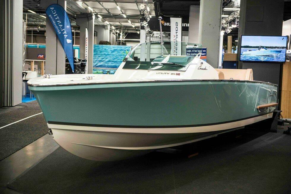 Läcker norsk speedboat