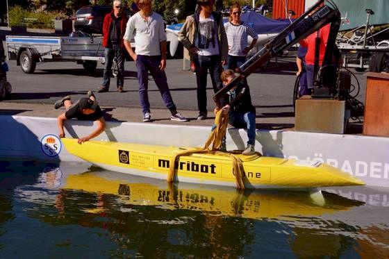 Maribot Vane – ska kunna segla autonomt en månad