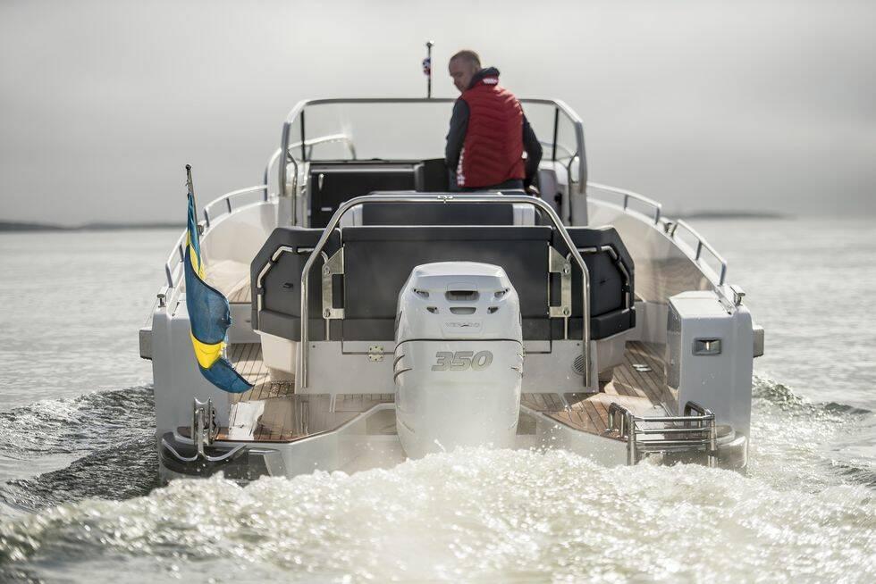Båtnytt gör första testet av nya Nimbus T9