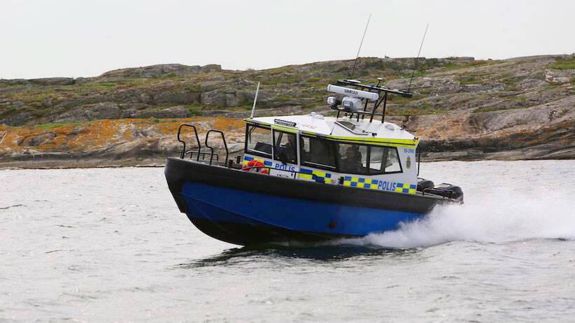 TV: Här är polisens nyaste båt – första exemplaret levererat