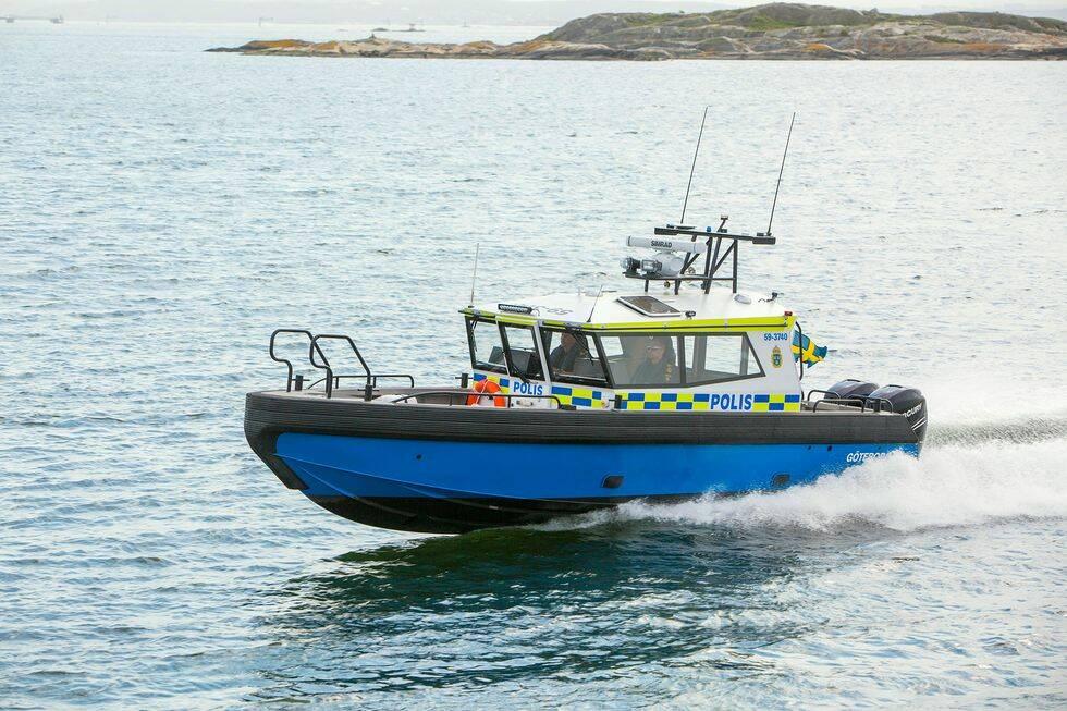 Följ med ombord på polisens nya båt