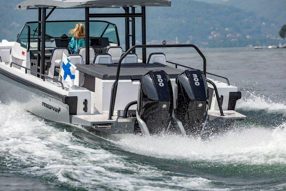 Test: Båtnytt provkör nya muskelpaketen från Mercury