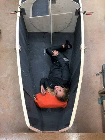 Yrvinds båt börjar ta form