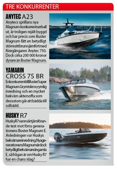 Test: Båtnytt provkör nya maxade generationen av Buster Magnum