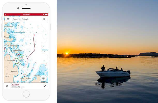 """Smarta navigeringsappen: """"Ger mig mer tid på sjön"""""""