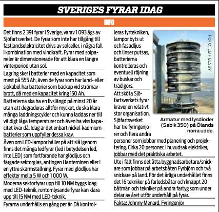 Sveriges läckraste fyrar