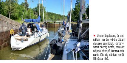 64 slussar och ett antal broar – häng med längs Göta Kanal