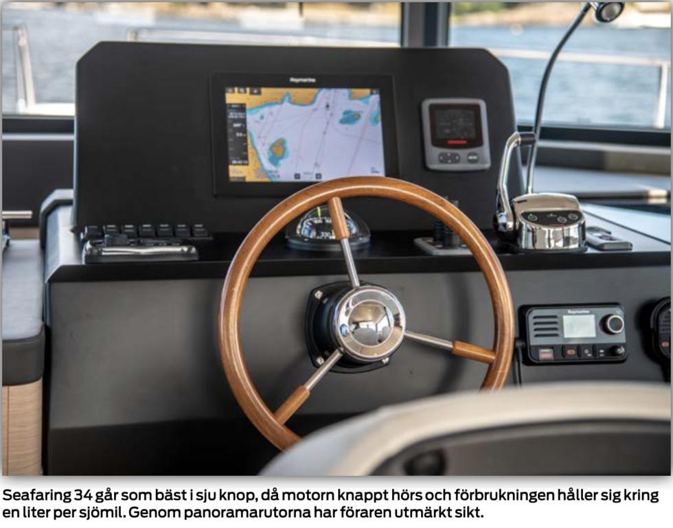 TEST: Seafaring 34 – en husbil på sjön
