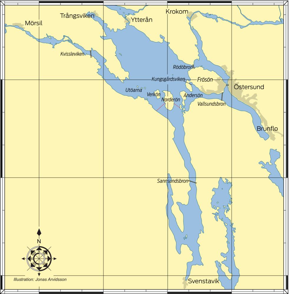 RESMÅL: Storsjön – till sjöss i fjällen