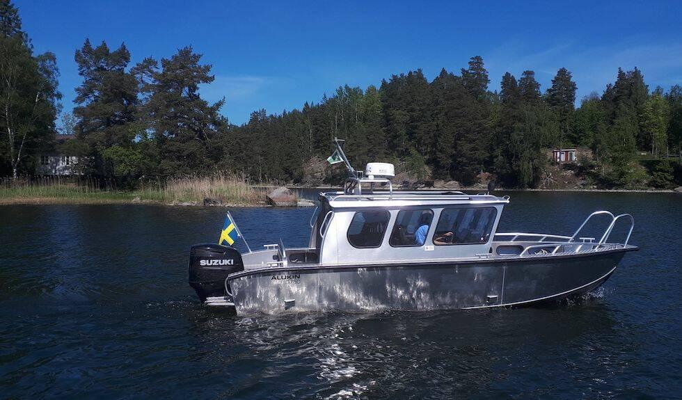 Uppdraget: Förläng båten och stoppa i en inombordare