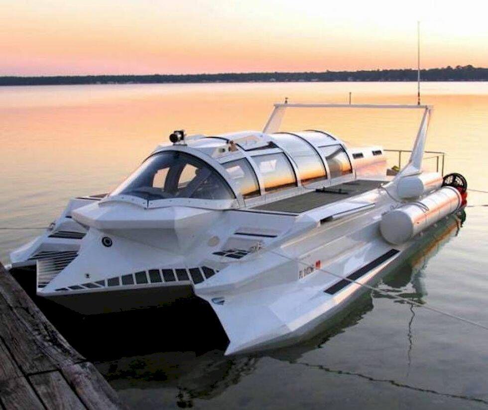 Drömbåten för James Bond-fantaster
