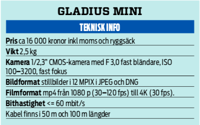 Gladius Mini – en dyr men rolig leksak