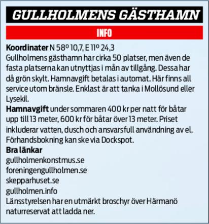 Resmål: Gullholmen