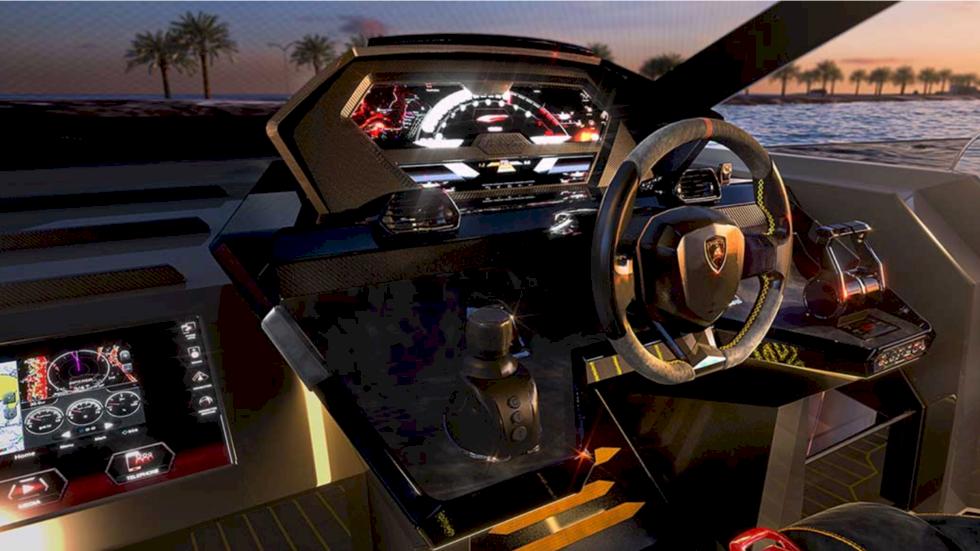 TV: Kolla in Lamborghinis superbåt med 4 000 hästar