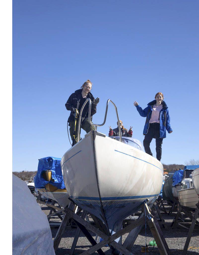 Ungdomarna som lotsas in i båtlivet