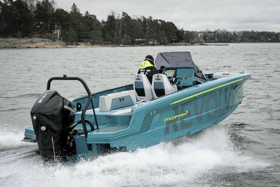 Först i Sverige – Praktiskt Båtägande testkör Axopar 22 Spyder