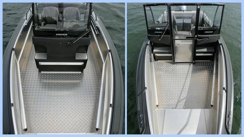 Lika som bär – Praktiskt Båtägande testar två snarlika versioner av Faster 570