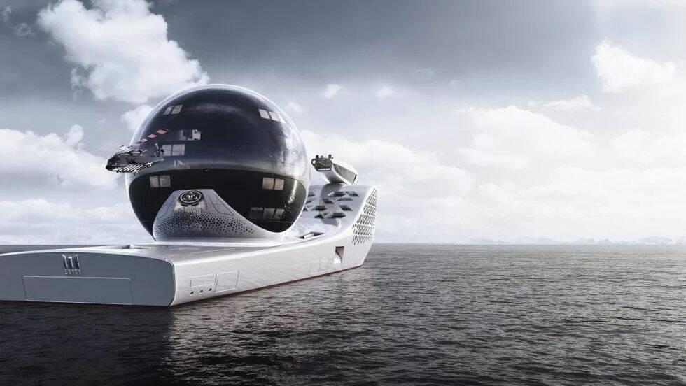 Gigantiskt forskningsfartyg kan bli först med unik drift
