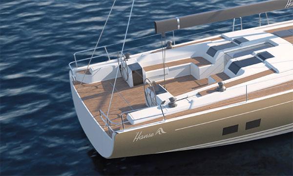 Nya Hanse 675 - en elegant seglingsexpert
