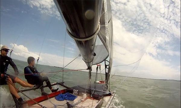 TV: Här är det osynliga seglet - titta riktigt noga!
