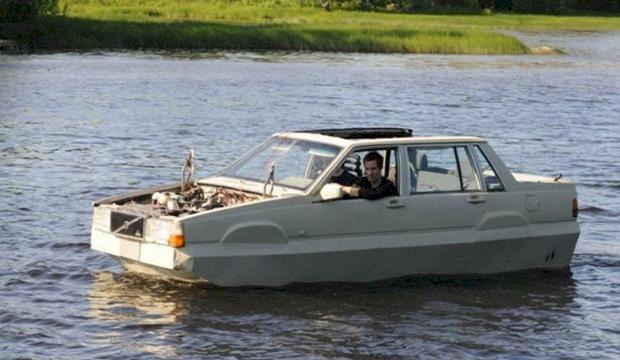 Nu kan du köpa en Volvo 740-båt
