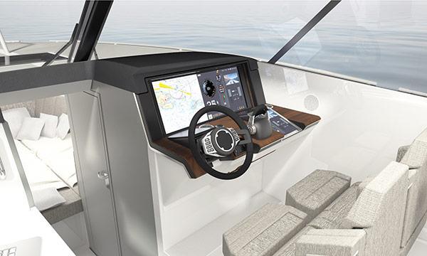 Smarta svenska båten har digital besättning