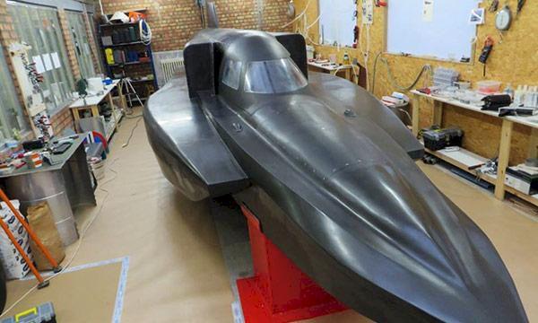Bilder: Detta ska bli världens snabbaste båt
