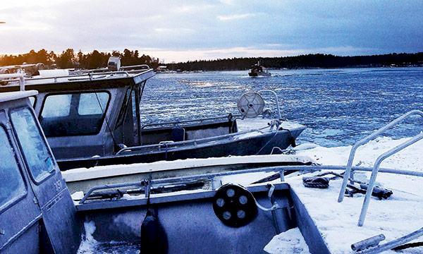 Vinterkörtips: Så skonar du båten bland isflaken