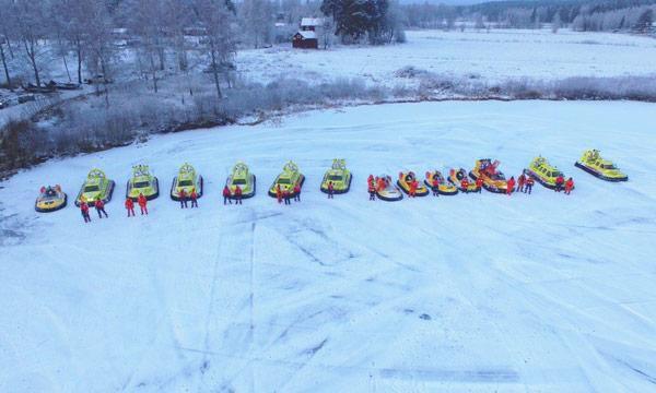 TV: Så räddar sjöräddningens svävare liv på vintern