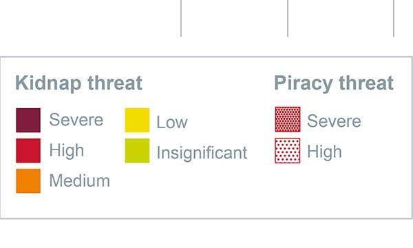 Stor risk för piratattacker i seglingsparadis
