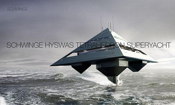 Här är första super yachten på bärplan