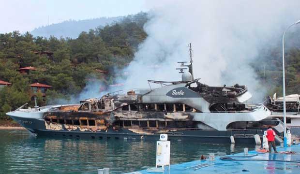 Rekordstor ersättning för utbränd superyacht