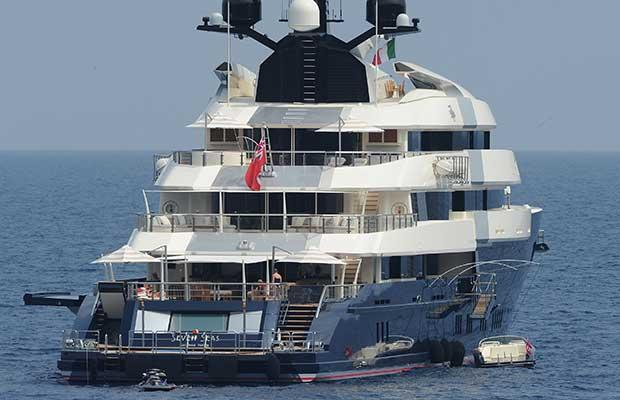 Steven Spielberg säljer sin 85-meters yacht – den är för liten