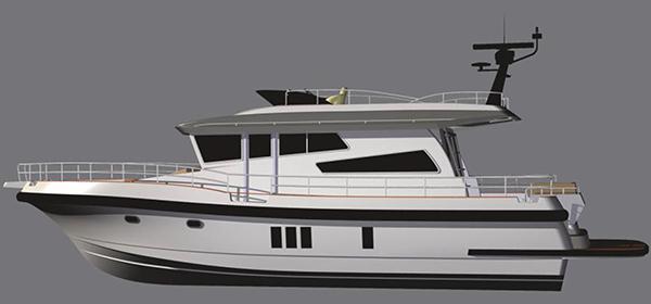 Här är Nordstars nya flaggskepp – med tre motorer