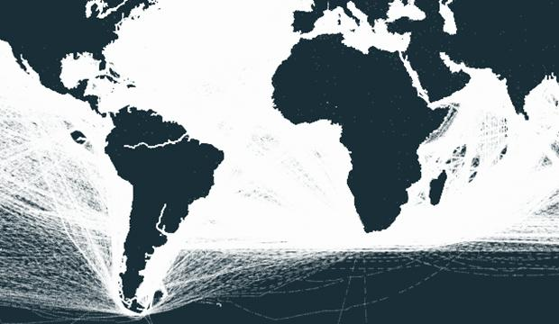 Kolla in fartygskaoset – unik interaktiv karta