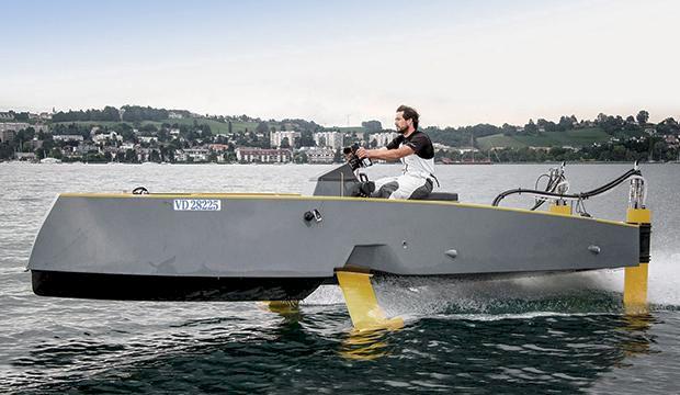 TV: Därför är svävande båtar framtiden