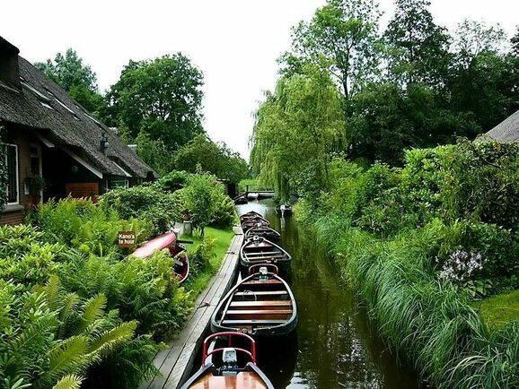 Här är byn som är ett paradis för båtägare