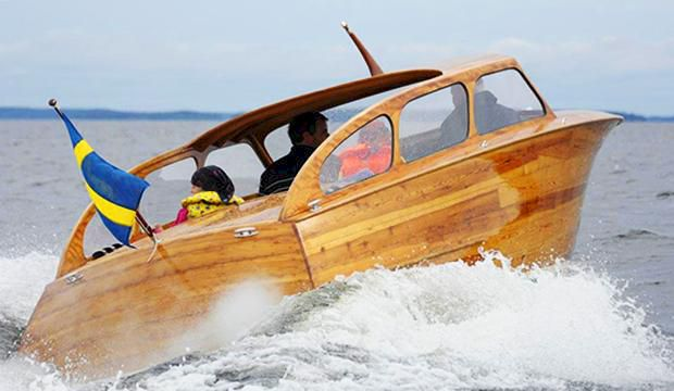 Läckra träbåten glömdes bort i 60 år – nu kan hon bli din