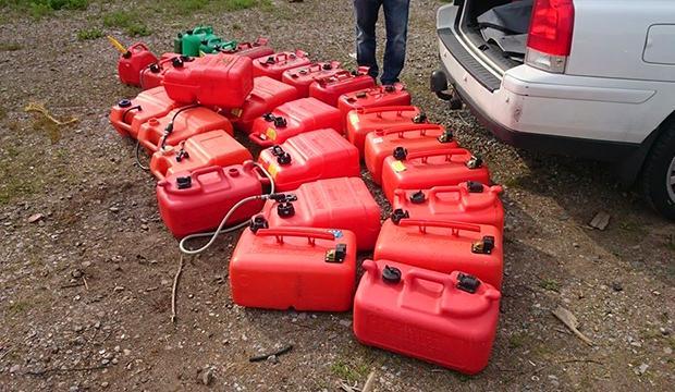 Hittade rekordmånga stulna bensintankar – så skyddar du dig