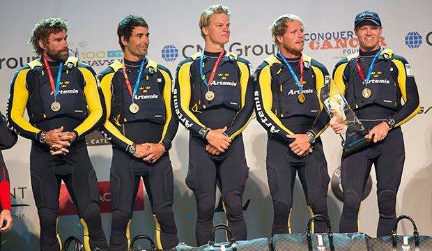 Svensk America's Cup-seger i Chicago