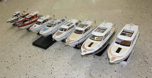 Bilder: Kolla in Nimbus som badkarsbåtar