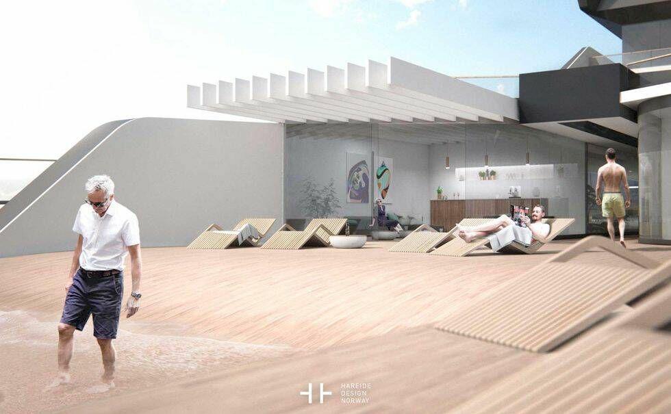 Den norska lyxyachten – ett flytande palats